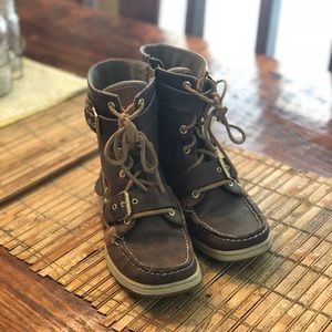 Sperry Top-Sider Boots Brown Leather Size 7
